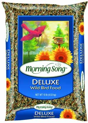 Morning Song Deluxe Bulk Bird Seed, 40-Pound