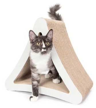PetFusion 3-Sided Vertical Cat Scratcher and Post