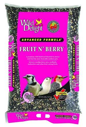 Wild Delight - Pound Fruit N-Feet Berry Birdfood
