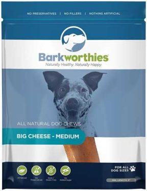 organic dental chews for dogs by barkworthies