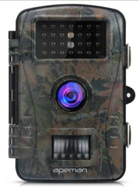 best trail cameras Apeman with night vision
