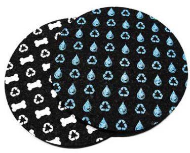 Made in USA pet food bowl mats