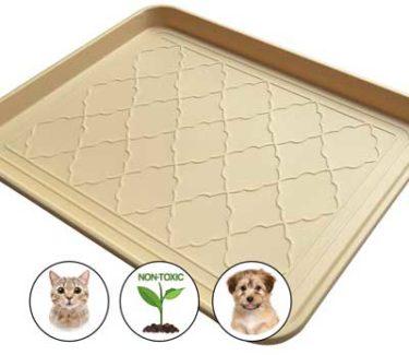 Premium pet food bowl mats
