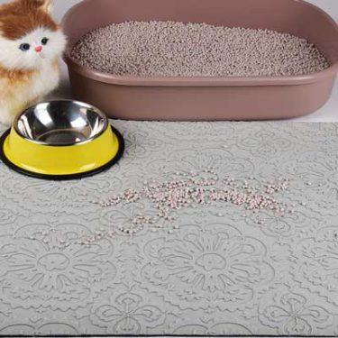 Ray CC pet food bowl mats