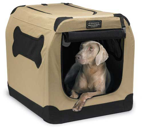Best dog crates Petnation Port-A-Crate Indoor and Outdoor Home for Pets