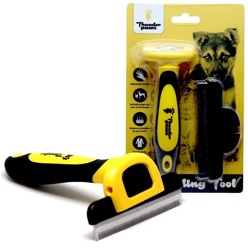 Best Deshedding Tools For Dogs thunderpaws