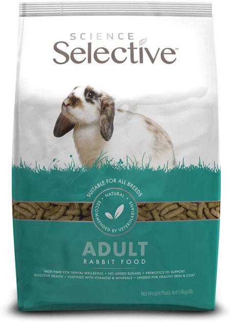 best pet rabbit food